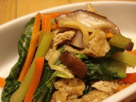 ✿簡単♫麺つゆで小松菜の煮びたし✿