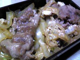 ご飯がすすむ牛肉の甘辛煮