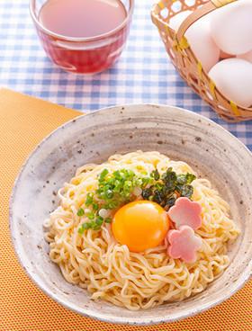 卵かけラーメン