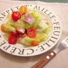 すし酢で簡単♪HLTのマリネ風サラダ