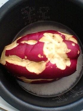 炊飯器で★サツマイモふかし