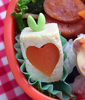 高野豆腐をかわいく♡ キャラ弁のおかず