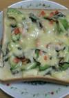 鮭アボカドチーズトースト