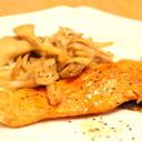 ご飯が進む!鮭のムニエル♡バター醤油味