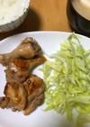 冷凍鶏肉甘辛煮