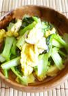 ターツァイと卵のエスニック炒め