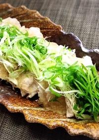 茄子と豚肉のマリネ~レンジで簡単