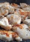 鶏むね肉で柔らかバジルチキン