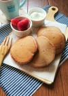 卵不使用☆ふんわりココアパンケーキ。