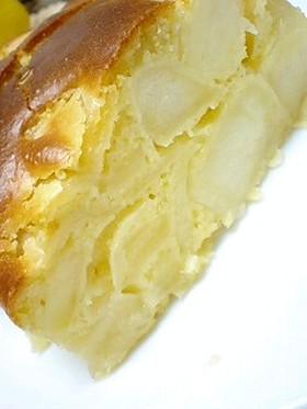 どこもかしこも「リンゴ」だらけのケーキ