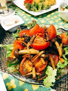 ナスととトマトのフレッシュマリネ
