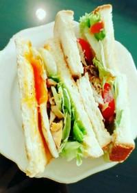我が家のサンドイッチ