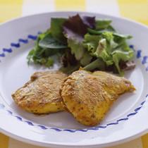 鶏肉のハーブピカタ