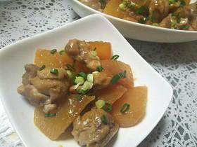 ★簡単★柚子茶De鶏と大根のトロトロ煮★