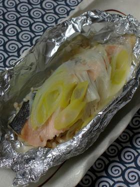 簡単☆鮭のホイル焼き