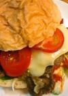 簡単柔らかい鹿肉バーガー鹿肉サンドイッチ