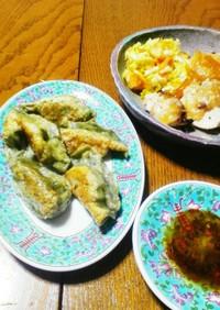 日本茶の餃子の皮