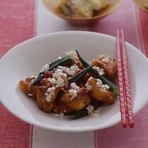 鶏の中華風から揚げ