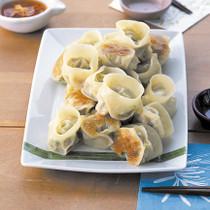 豆腐のふんわり餃子