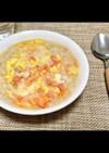 卵と鮭フレークの簡単優しい雑炊 ♪