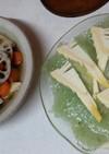 竹の子料理2品(血管ダイエット1098)