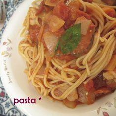 スパゲティ シャスール風 ♪