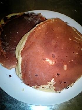 朝食に、おやつに、寒天パンケーキ