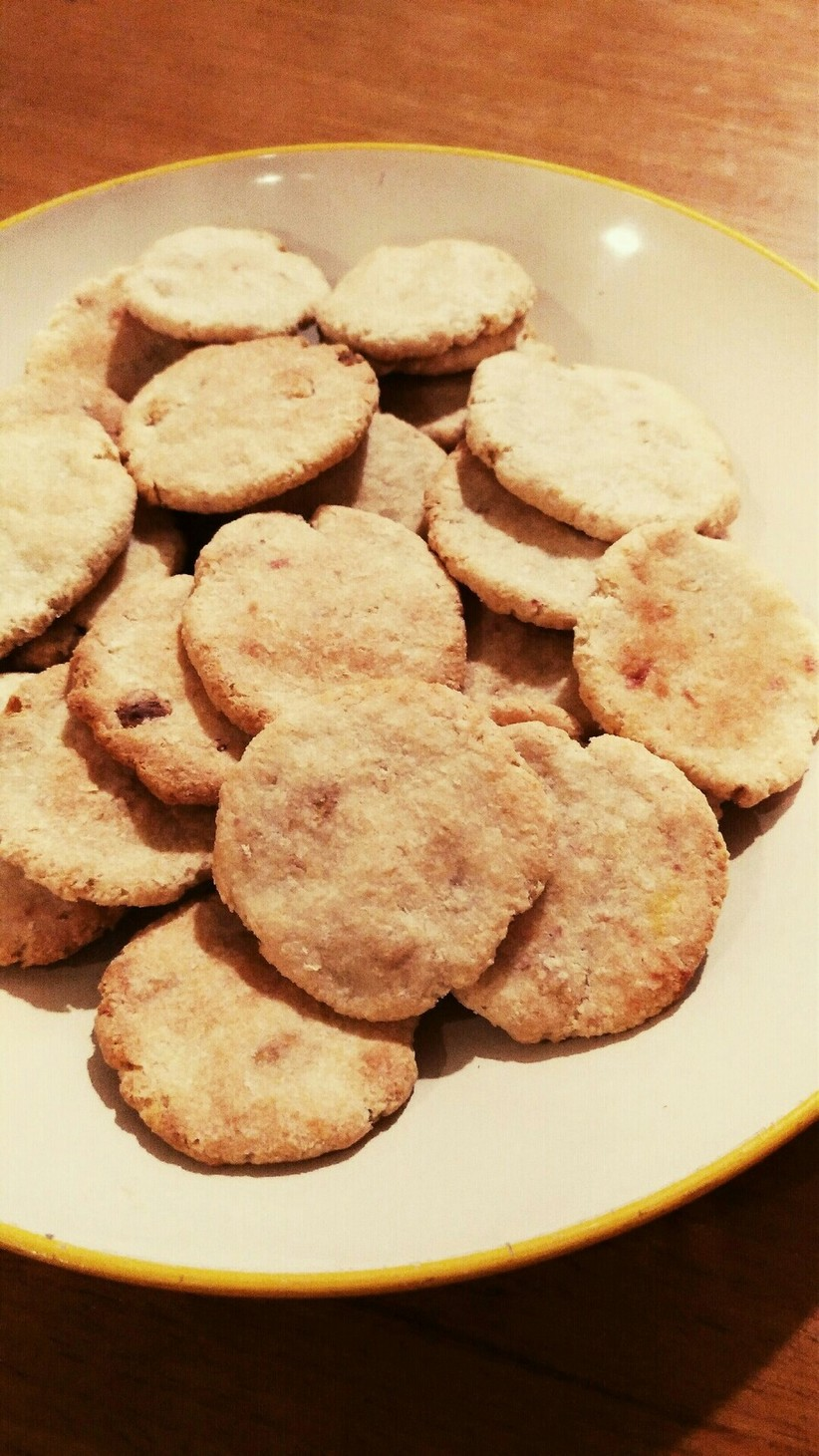おからとフルグラの簡単ダイエットクッキー
