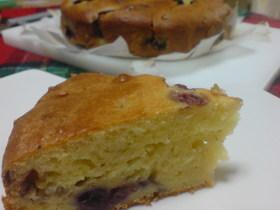 ミックスベリーのケーキ☆チーズ風味