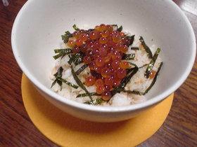 鮭といくらの親子丼 柚子しょうゆ風味