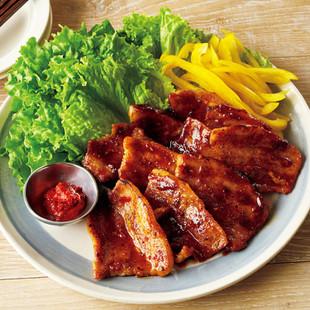 葉包み焼き肉