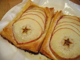 計量いらず!りんごの輪切りパイ