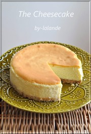 本格*ベイクドチーズケーキ*の写真