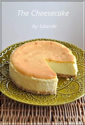 本格*ベイクドチーズケーキ*