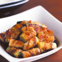 野菜の豚バラ巻き