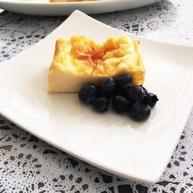 カッテージチーズでなめらかなチーズケーキ