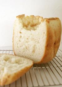 小麦グルテン不使用♪水あめもち粉米粉パン