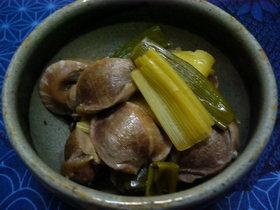 砂肝の炒め煮