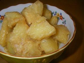 味噌バタ味☆ジャガイモの煮っころがし