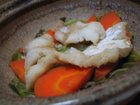 鱈と野菜の酒蒸し