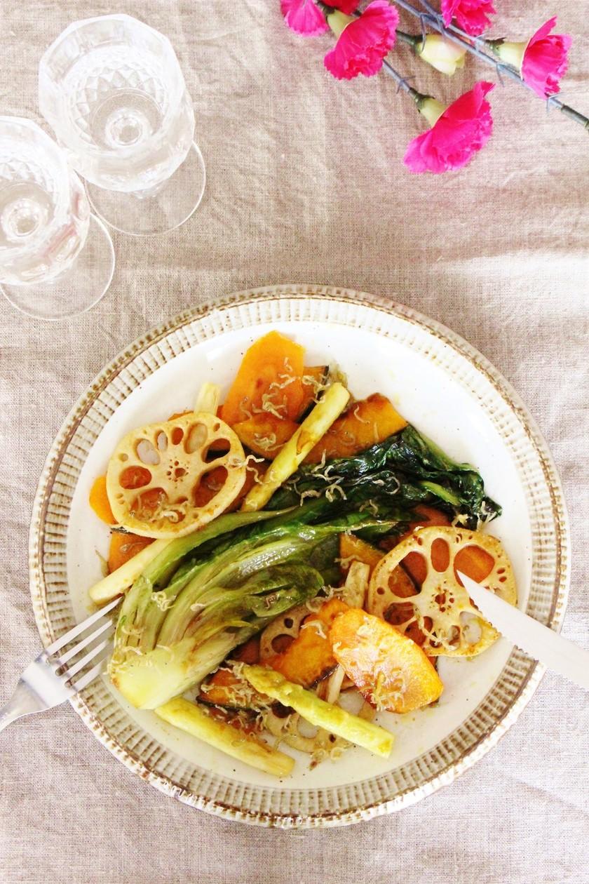 焼き野菜の和風サラダ