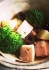 鶏ハムとジャガイモのガーリック風味