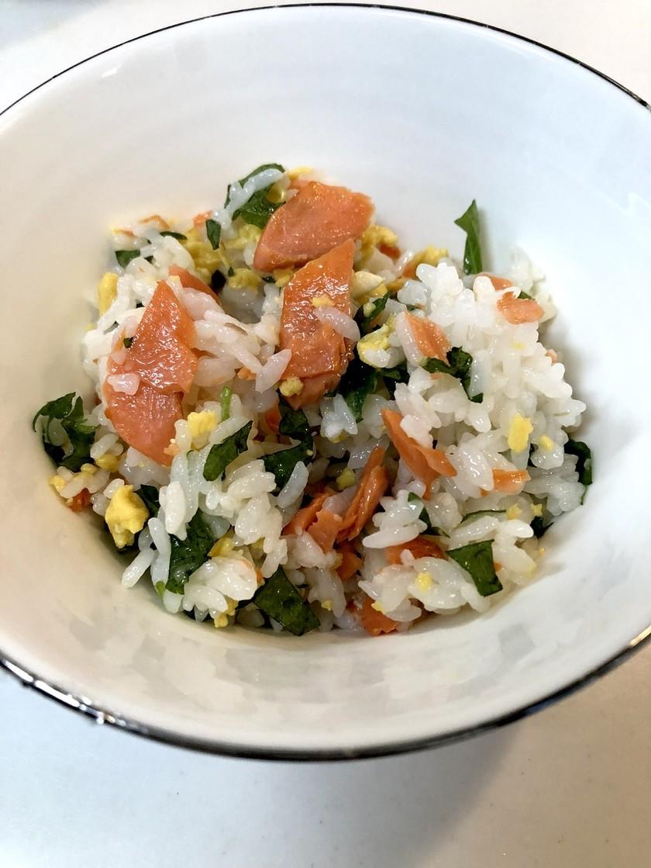塩鮭と大葉のちらし寿司
