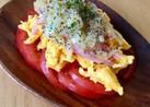 酢玉ねぎで♡炒り卵マリネサラダ