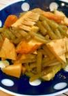筍と蕗とさつま揚げの煮物