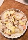 鮭ときのこと豆腐のグラタン