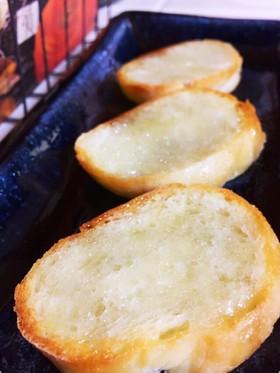 ココナッツオイルとはちみつのトースト