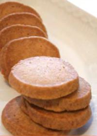 【米粉】玄米粉のサクサクスパイスクッキー