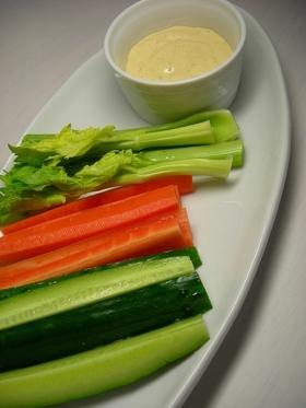 野菜スティック☆みそマヨソース