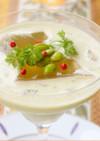 【米粉】冷製とろとろスープ ジュレ添え